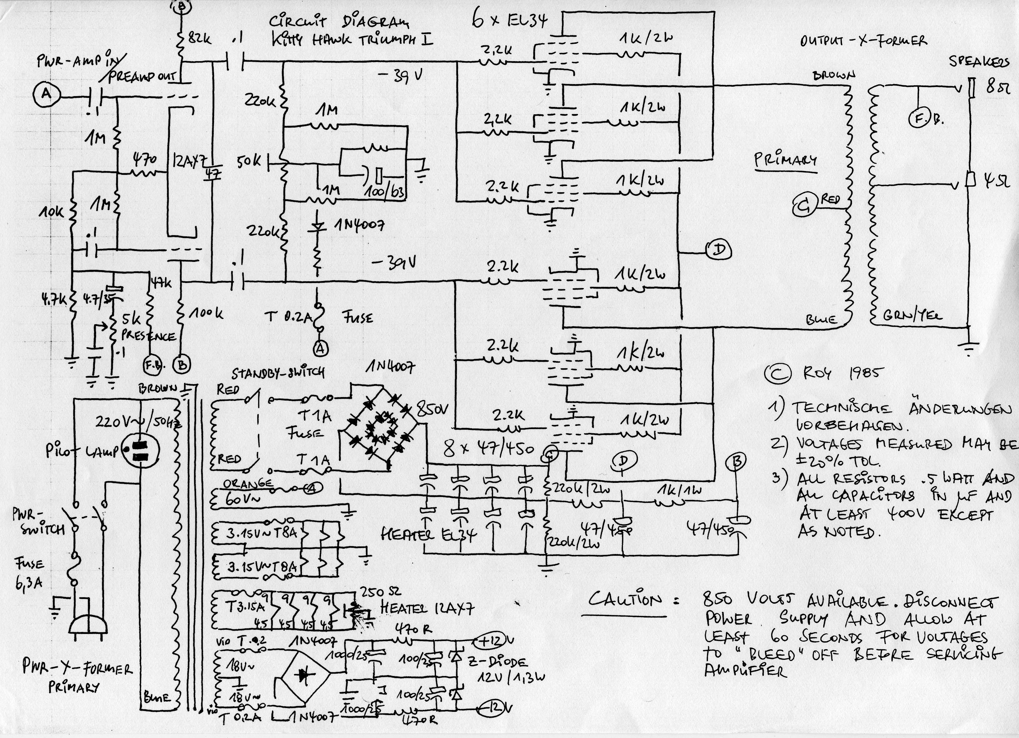Peavey Speaker Wiring Diagram Free Bmw 5 Series Wiring Diagram